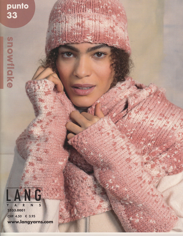 LANGYARNS Magazin Punto No33 Snowflake