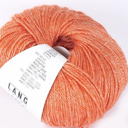 LANGYARNS Liza 50g Farbe  59 orange