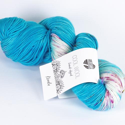 LANA GROSSA Hand-Dyed Cool Wool 100g Farb 110 kerala