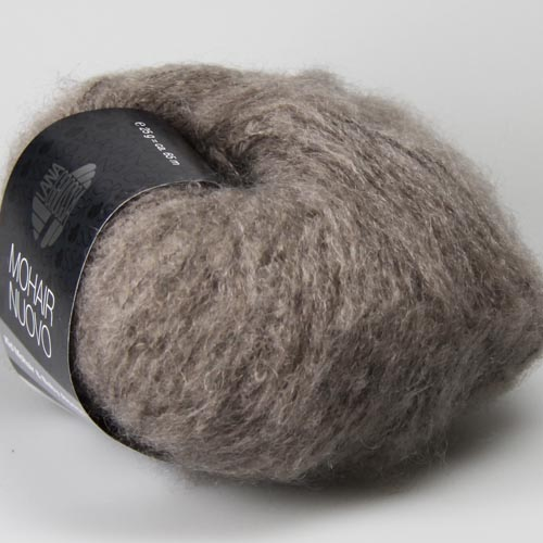LANAGROSSA Mohair Nuovo 25g Farbe 10 taupe