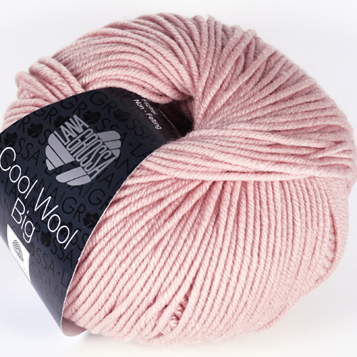 LANA GROSSA Cool Wool Big Farbe 982 altrosa
