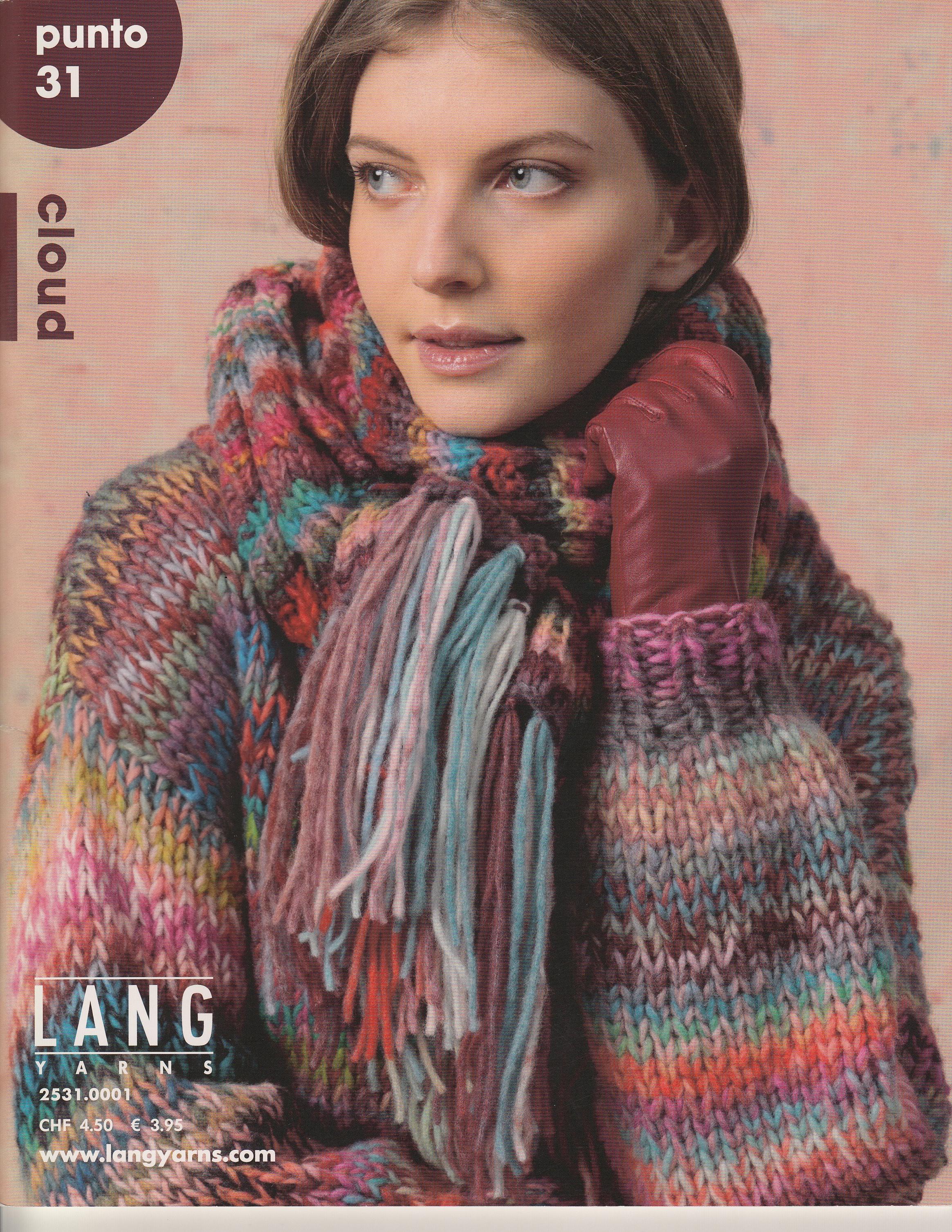 LANGYARNS Magazin Punto No 31 Cloud