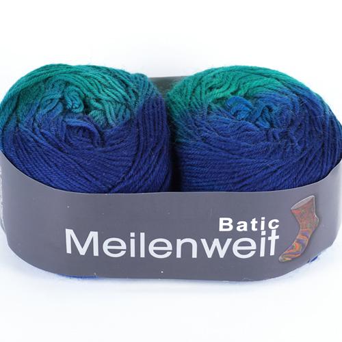 LANA GROSSA Meilenweit Batic 2x 50g, Farbe 6101