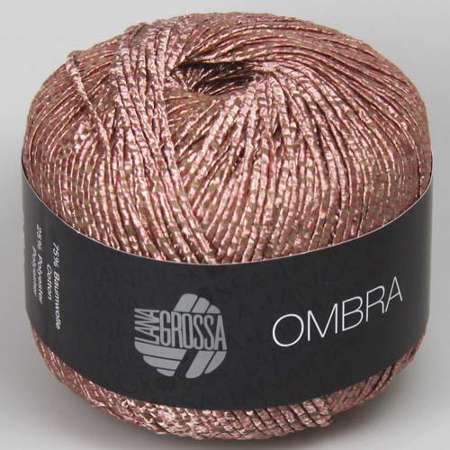 LANA GROSSA Ombra 50g Farbe 4 Rosa/Beige
