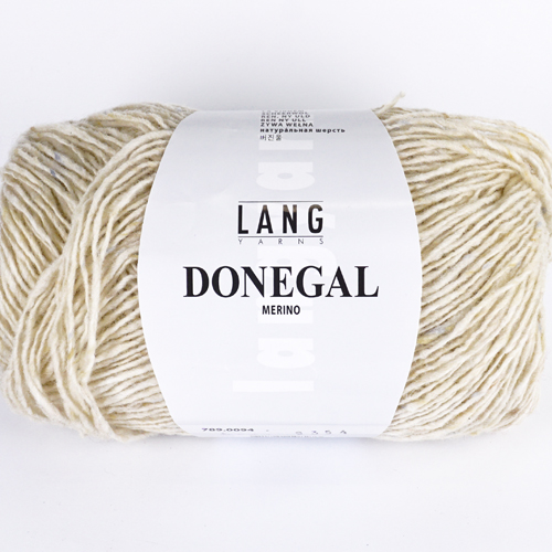 LANGYARNS Donegal 50g, Farbe  94 offwhite