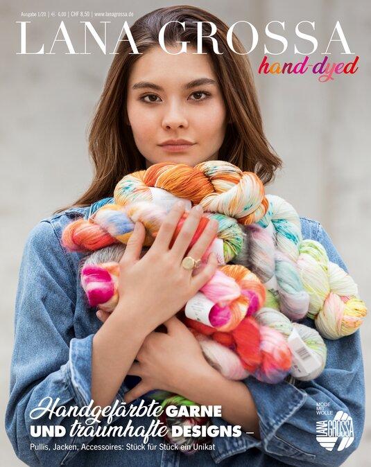 Magazin LANA GROSSA hand-dyed Ausgabe 1