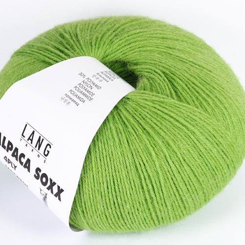 LANGYARNS Alpaca Soxx 100g, Farbe 16 grün