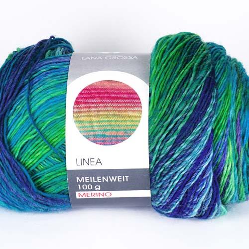 LANA GROSSA Meilenweit Linea Merino 100g Farbe 7441
