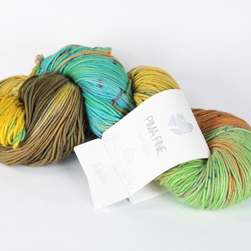 LANA GROSSA Pima Fine hand-dyed 100g Farbe 703 ranbir