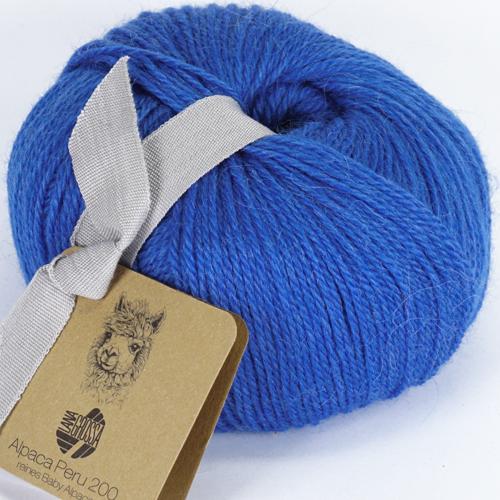 LANA GROSSA Alpaca Peru 200, Farbe 233 royal