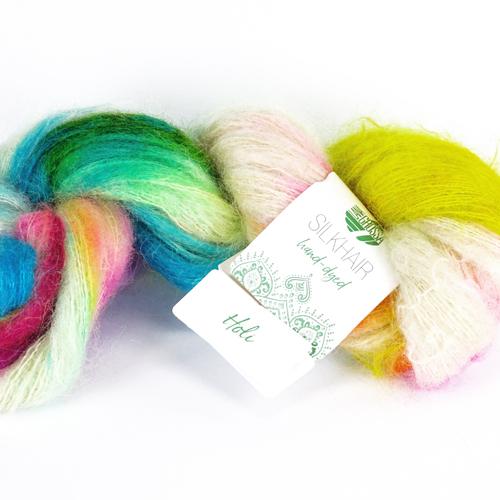 LANA GROSSA Hand-Dyed Silkhair 100g