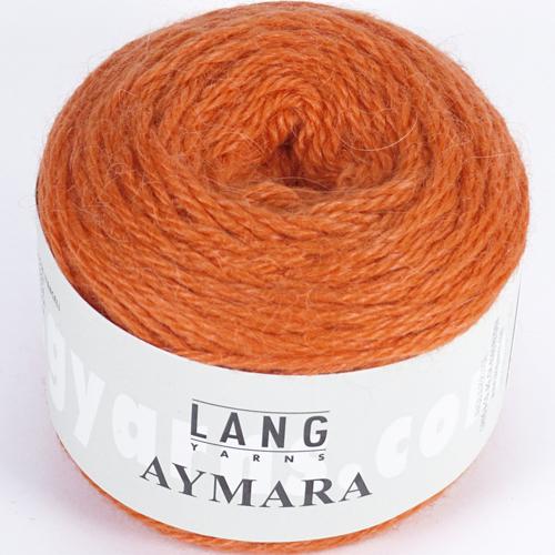 LANGYARNS Aymara 50g, Farbe 59 orange