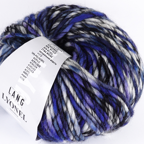 LANGYARNS Lyonel 100g, Farbe 6 blau