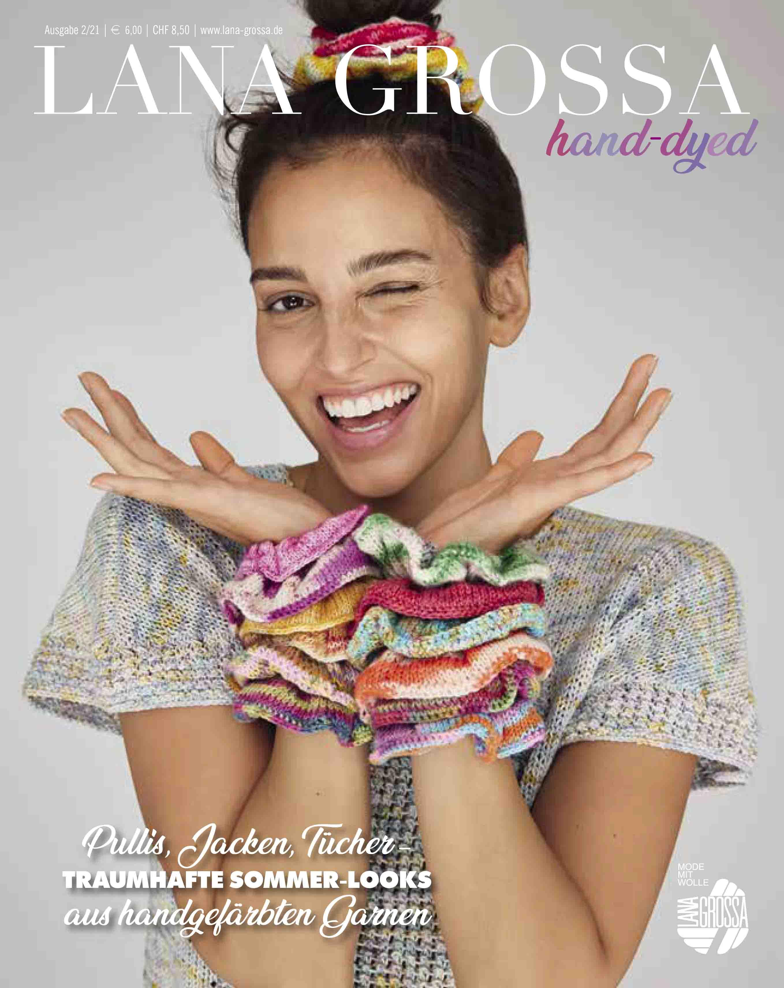 Magazin LANA GROSSA hand-dyed Ausgabe 2