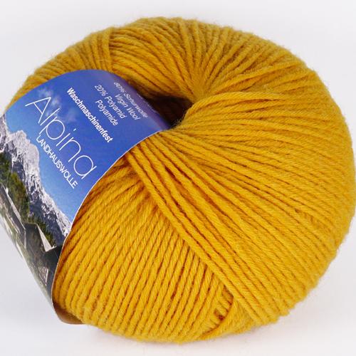 LANA GROSSA Alpina 100g, Farbe  51 gelb