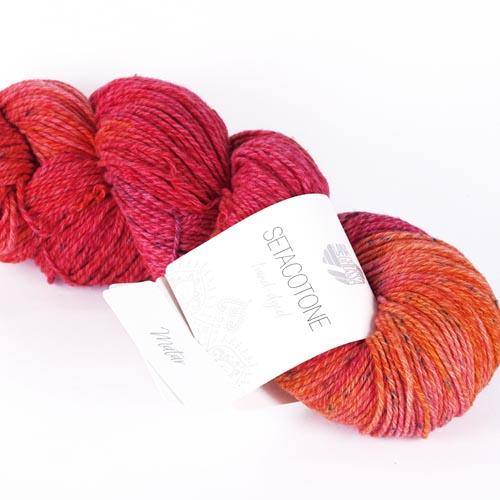 LANA GROSSA Setacotone hand-dyed 100g Farbe  904 matar