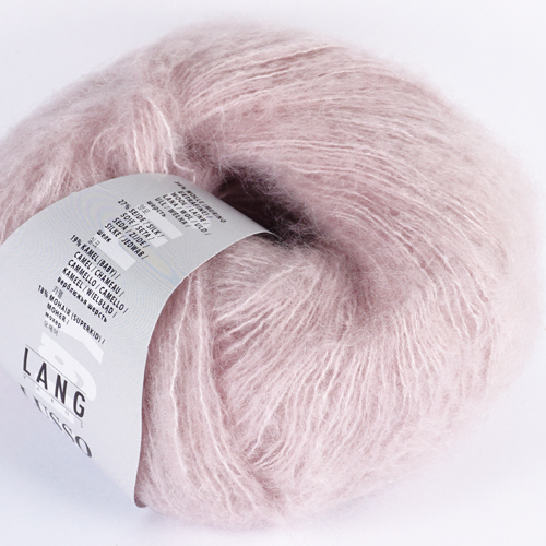 LANGYARNS Lusso 25g, Farbe 9 rosa