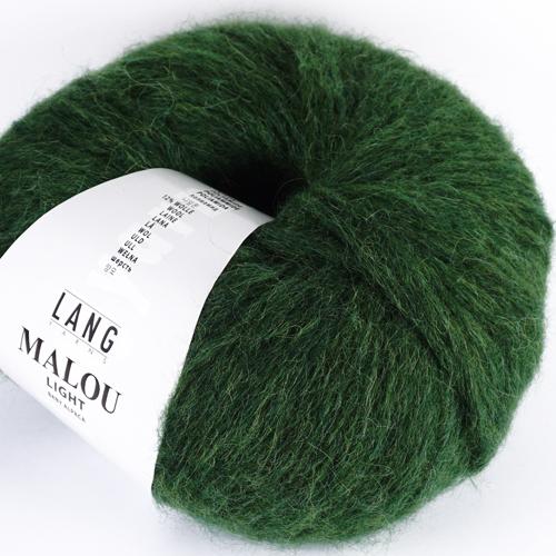LANGYARNS Malou Light 50g, Farbe 17 grün