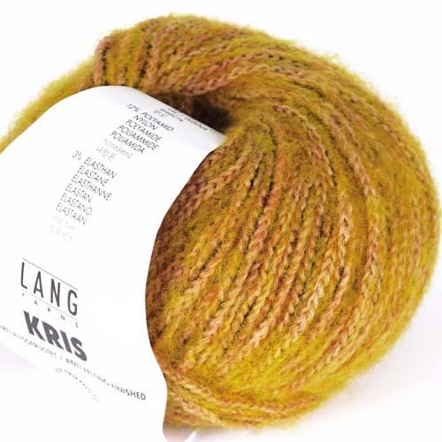 LANGYARNS Kris 50g Farbe  4 gelb/lachs