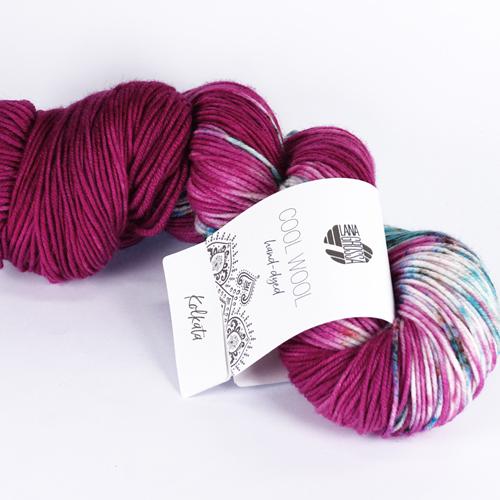 LANA GROSSA Hand-Dyed Cool Wool 100g Farbe 109 kolkata